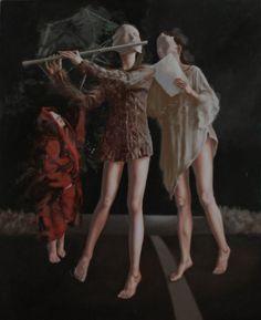 Chinese art Ma Jing Hu, born in August 1974 Nanjing, Jiangsu Province, is a professional painter. In 2000 graduated from the Nanjing Art Institute. Chinese Contemporary Art, Chinese Art, Chinese Painting, Nanjing, Carol Bennett, Ben Long, Bev Doolittle, Alex Katz, Bo Bartlett