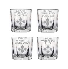 Buy Etched glasses, Poker glasses, Daddy's sippy cup, Card game glasses,Father's day glasses by milestoneartworks. Explore more products on http://milestoneartworks.etsy.com