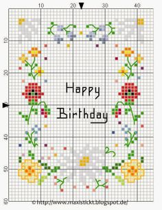 maxi embroiders: For June Free Cross Stitch Charts, Cross Stitch Freebies, Cross Stitch Bookmarks, Mini Cross Stitch, Cross Stitch Cards, Cross Stitch Flowers, Cross Stitching, Cross Stitch Embroidery, Cross Stitch Designs