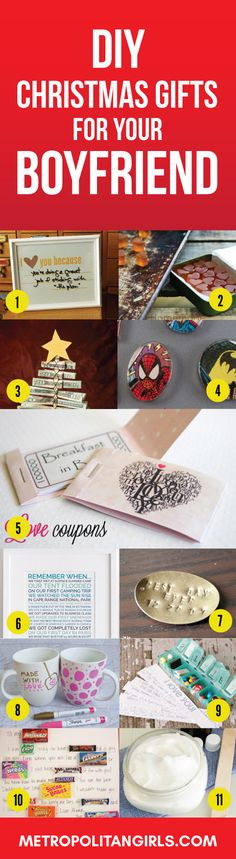 DIY Christmas Gift Ideas for Boyfriend 2017 #craft