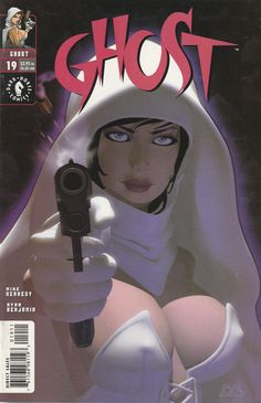 Ghost # 19 Dark Horse Comics Vol 2 ( 2000 )