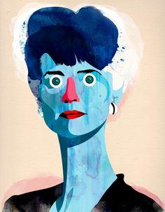 Alvaro TAPIA :: Actresses portraits: Charlotte Rampling