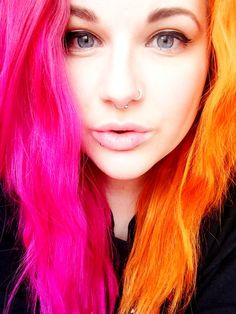 I wanted these colors when Jeffree Star did it