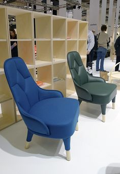 Emma lounge chairs by Fredrik Färg and Emma Marga Blanche for Gärsnäs.