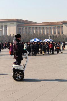 Police: Tiananmen Square.  Beijing, CHINA.   (by Cristóbal Alvarado Minic, via Flickr)