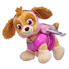 "pink PAW PATROL /""SKYE/"" Application Embroided b Iron on patches 11 x 8 cm"