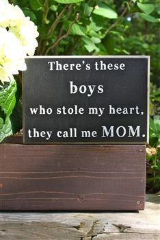 There's These Boys Who Stole My Heart - Box Sign.