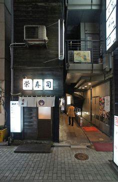 夜散歩のススメ「金春小路」東京都中央区銀座