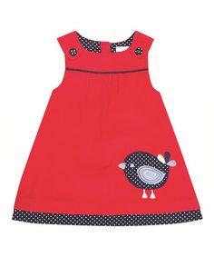 Look what I found on #zulily! Red Bird Jumper - Infant, Toddler & Girls #zulilyfinds