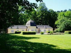 Die Orangerie im Park in Bad Berleburg.