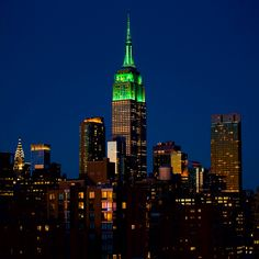 Green for the Climate Group & Climate Week NYC. Photo by DavidGoodmanPix/IG.