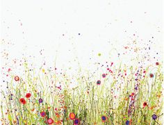Meadow Art Inspired by Wild Places