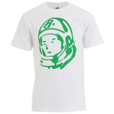 Billionaire Boys Club : T-shirts : Classic Helmet Tee in White : John Anthony Mens Designer Clothes