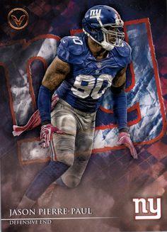 Set: 2014 Topps Valor Player: Pierre-Paul, Jason Sport: Football Team: New York Giants FB Card Number: #37 Manufacturer: Topps Co. Brand: Topps Valor