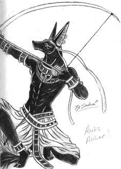Anubis archer by sakura11 on DeviantArt