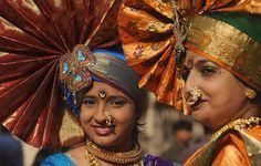 Gudhi Padwa, the Maharashtrian new year, Mumbai, India, March 2012.  (AFP/Getty images)