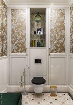 Утонченная классика в осенней гамме в Москве | Пуфик - блог о дизайне интерьера