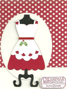 Stampin' Up!, Convention 2013 Swap, Christmas, Dress Up, That's the Ticket, Happy Hour, Perfect Pennet Die