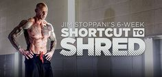 Get ready to burn fat, build muscle, boost strength, and get absolutely shredded in only six weeks. Get ready to achieve the best shape of your life. Get ready for Shortcut to Shred.