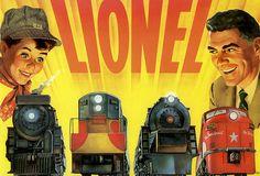 Lionel Trains Ad, 1957