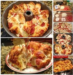 Wonderful DIY Easy Pull Apart Pizza Bread | WonderfulDIY.com