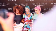 Evento Sephora Rihanna 'Fenty Beauty' en Cines Callao...Primera acción de Realidad Aumentada que un anunciante lleva a cabo en la plaza de Callao.  El evento, organizado por Inhouse Smart Communication (agencia de comunicación de Sephora) y Wildbytes (responsable del concepto creativo y de la producción). Septiembre 2017