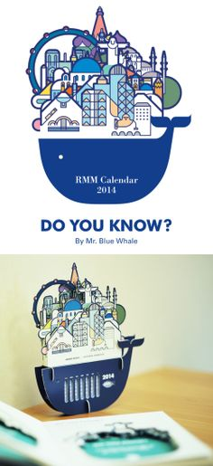 do you know? by mr. blue whale, rmm calendar 2014 by rmm objects