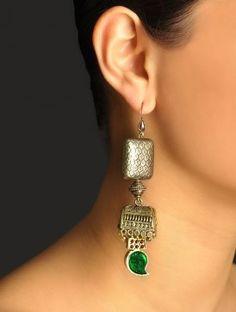 Antique Tabeez Earrings | Raji Anand