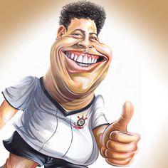 Caricatura Ronaldo