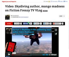 Digital Journal: Author jumps out of plane and dangerous mango - Anne-Rae Vasquez