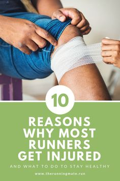 Top 10 reasons for running injuries. Check it out and avoid common running injuries. Marathon Training For Beginners, Running For Beginners, Half Marathon Training, Marathon Running, Workout For Beginners, Running Injuries, Running Workouts, Running Tips, Running Training