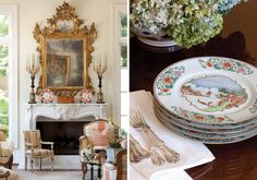 An Atlanta Home Filled with Antiques - victoriamag.com