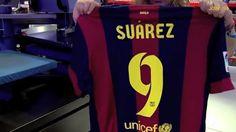 Le numéro de Luis Suarez au Barça - http://www.actusports.fr/112032/numero-luis-suarez-au-barca/