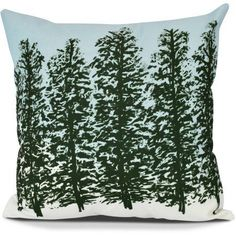 Featuring a unique tree motif, the Hidden Forest Square Throw Pillow from E by Design is constructed on a smooth polyester cover. Filled with a plush down alternative polyester, this indoor pillow offers stylish functionality. Diy Pillows, Decorative Pillows, Throw Pillows, Indoor Christmas Decorations, Holiday Decor, Floral Motif, Floral Prints, Christmas Kitchen Towels, Patio Furniture Cushions