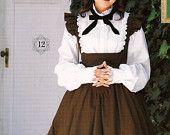 Lolita Dress Pattern Blouse & Underbust JSK