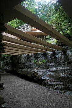 Fallingwater. Frank Lloyd Wright. 1936-1939, Bear Run, Pennsylvania