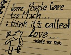 Winnie the Pooh quote- he is so smart