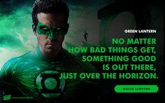 Beware my power--Green Lantern's light!