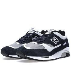 new product 547d0 30b78 New Balance (NB) M1500NWG - Made In England Marine  Wit Grijs Heren Running
