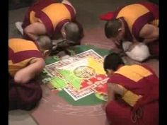 Sand Mandala video from the Denver Art Museum
