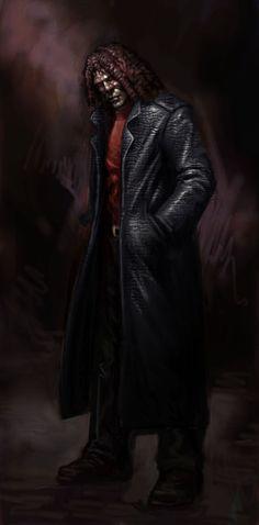 Sheriff - concept art   Vampire the Masquerade: Bloodlines