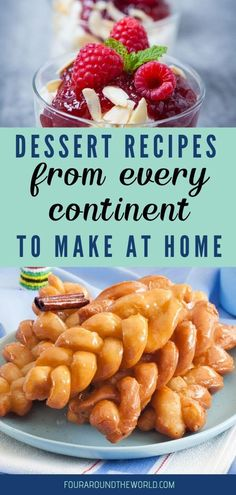 Discover the best desserts of the world with these delicious traditional dessert recipes from around the world. Inspire your wanderlust without leaving home Desserts Around The World, Around The World Food, Desserts For A Crowd, Fancy Desserts, Best Dessert Recipes, New Recipes, Baking Recipes, Delicious Desserts, Yummy Food
