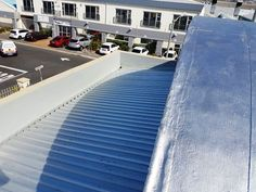 Sheet replacement as well UV Resistant Silver Protective application