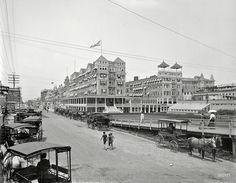 Everyday ATLANTIC CITY: Circa 1901. The Islesworth and Virginia Avenue, Atlantic City.