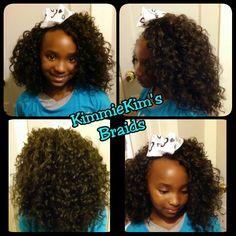 Crochet presto curl4girl
