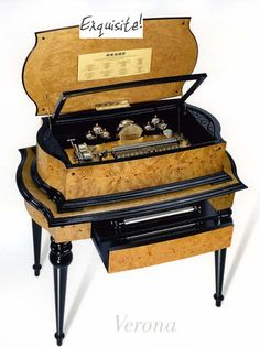 Exquisite and Rare Music Boxes, Reuge, Singing Birds, Mechanical Birds, Faberge Imperial Musical Eggs, Antique Music Boxes