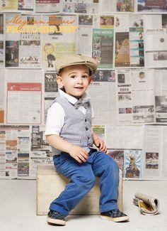Newspaper boy