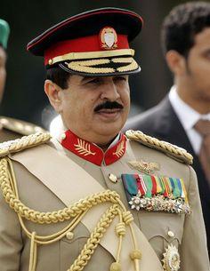 royal family of bahrain --the King