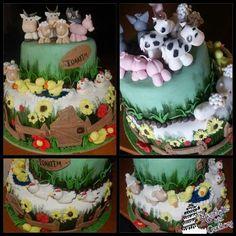 Farm birthday cake idea