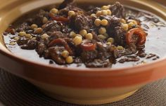 This lamb tagine could be the ultimate in comfort food, but with a touch of spice to give you a hint of warmer climates! Lamb tagine